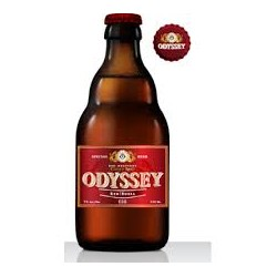 24 Bottiglie da 330 ml di Birra Greca ODYSSEY RED